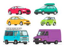 Set Of Cars. Vehicles, Sports ...