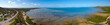 Luftaufnahme mit Drohne einer natürlichen Bucht in Australien