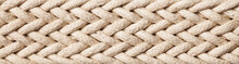 Horizontal Linen Rope Yarn Str...