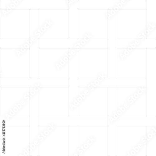 Fototapeta Floor Wodd Pattern for Design obraz na płótnie