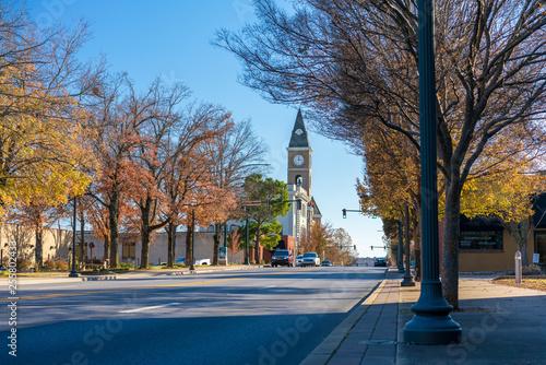 Fayetteville Arkansas Downtown Washington County Court House