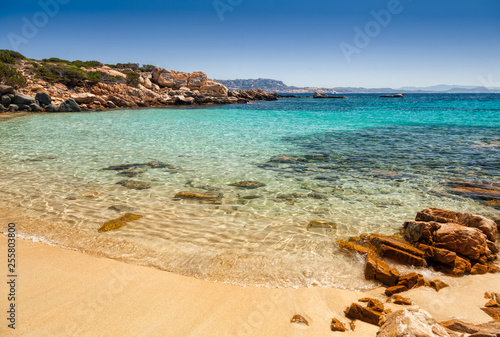 Photo  Cala Zavagli beach in Sardinia