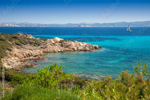 Photo  Santa Maria island Sardinia Italy