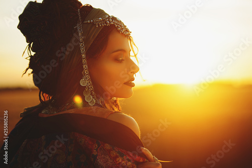 Photo sur Aluminium Gypsy ethnic indie style