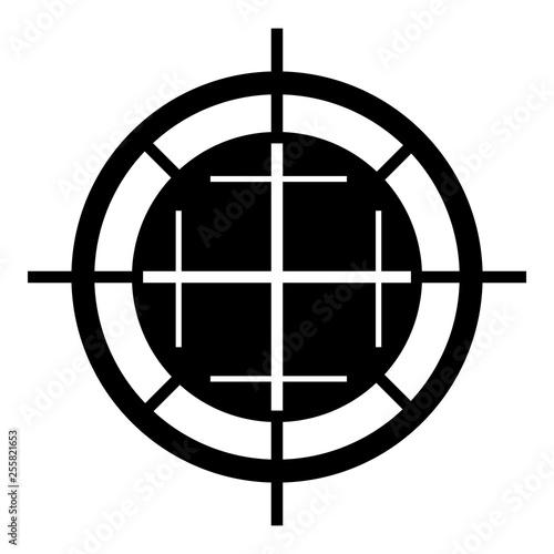 Fotografía  Sniper shooting icon