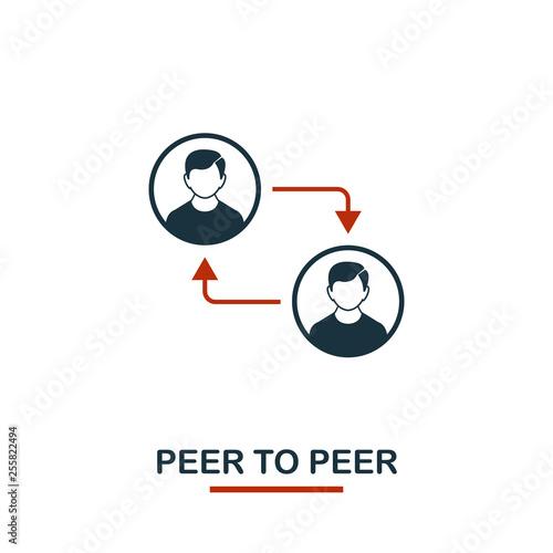 Photo Peer To Peer icon