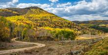 Autumn Back Roads In Colorado - Grand County Road 47