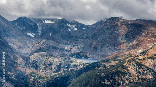 Fotografia  High Alpine Lakes - from Trail Ridge Road - Rocky Mountain National Park