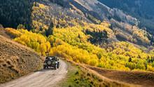 Autumn On Last Dollar Road Near Telluride - Jeep Tour