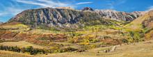 Autumn Scenery On Last Dollar Road Near Telluride - Golden Aspen