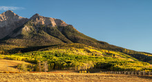 Autumn View Of Lost Dollar Ranch Colorado - Rocky Mountains