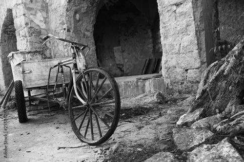 Autocollant pour porte Velo Cycle