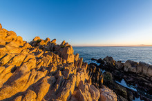 Monterey Bay At Sunrise