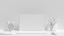 Minimal Idea Concept, Laptop Background