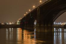 Classic Stone Bridge Over Miss...