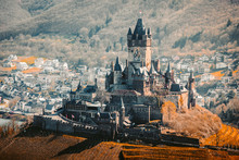 Historic Town Of Cochem With R...
