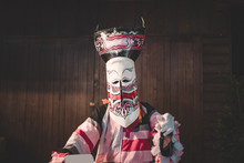 Phi Ta Khon Mask Clothing Fantasy Loei Thailand