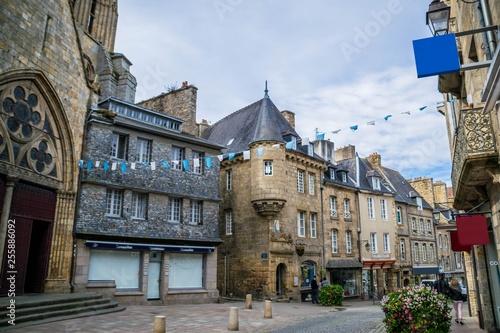 Fotografie, Obraz  Guingamp, Côtes-d'Armor, Bretagne, france.