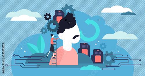 Fotografia Memory vector illustration