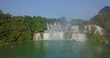 Ban Gioc waterfall or Detian waterfall in Vietnam and China