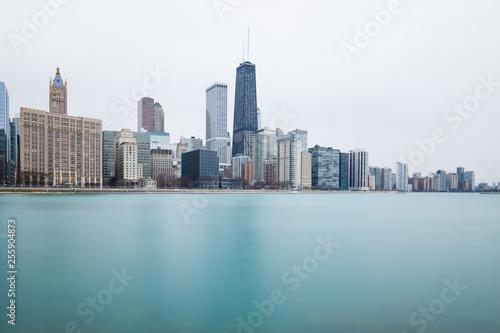Tuinposter Dubai Chicago