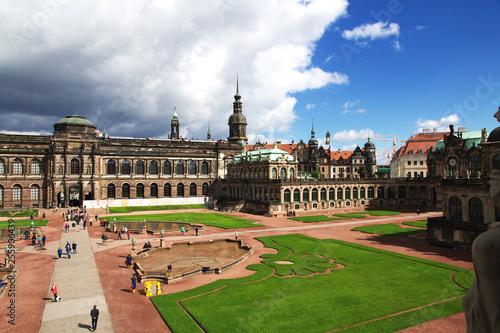 Staande foto Historisch geb. Zwinger, Dresden, Saxony, Germany, Deutschland