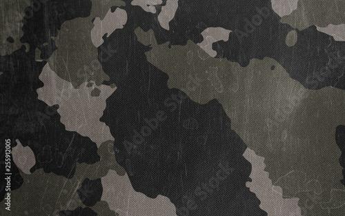 Fototapeta Camouflage pattern cloth texture