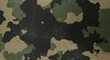 Camouflage pattern cloth texture. Background and texture for design.
