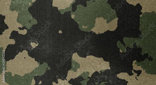 Fotografia, Obraz  Camouflage pattern cloth texture