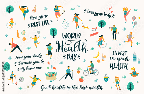 Fotografia World Health Day