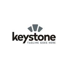 Modern Typography Keystone Log...