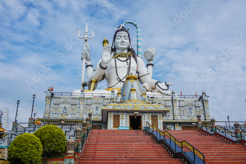 Valokuva  The huge statue of Shiva in Namchi Chardham in the state of Sikkim, India