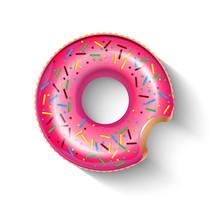 Float Doughnut Ring Icon