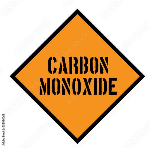 Valokuva carbon monoxide sign