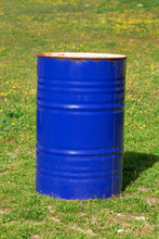 Bidone Blu