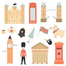 Big Set Of London Symbols And ...