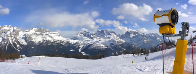 armata śnieżna, Madonna di Campiglio