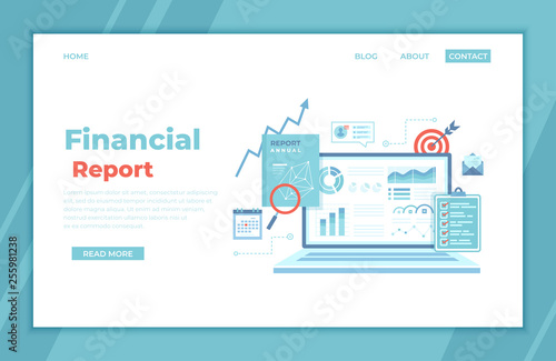 Photo  Financial Report