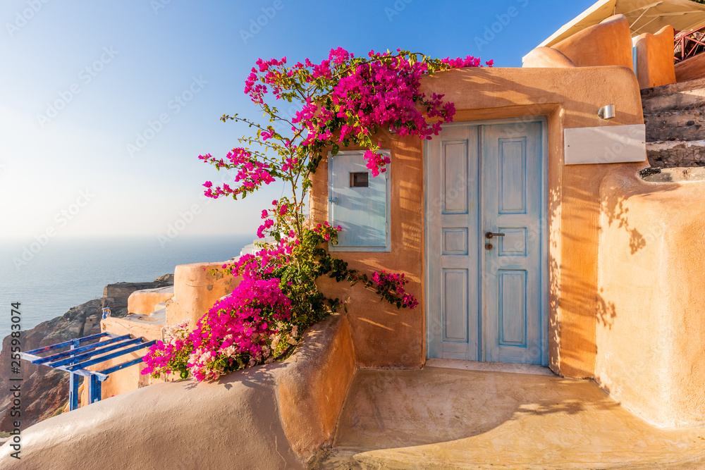Fototapeta Santorini, Greece. Oia village.