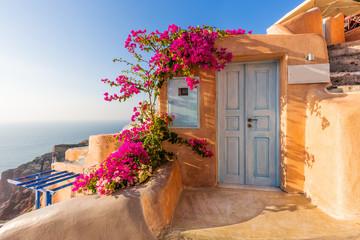 Santorini, Greece. Oia village.