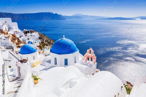 Fototapeta Santorini, Greece. Oia village. obraz