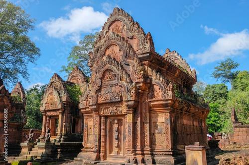 Foto  Ancient temple in cambodia