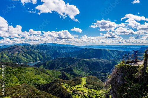 Deurstickers Dam Beautiful summer view in the Collsacabra Mountains(Catalonia, Spain).