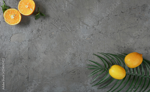 Citrus pattern background concept. - 256005432