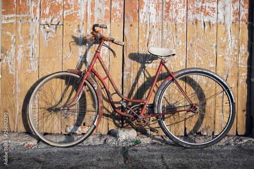 old vintage oxidized bike © Esther