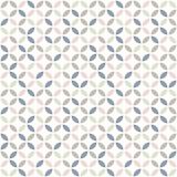 Geometryczny wzór w pastelowych kolorach. Projekt z połowy wieku. Tapeta wektor - 256018860