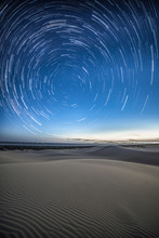 Stars And Sky Above Desert