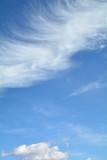 Fototapeta Na sufit - chmury na niebie