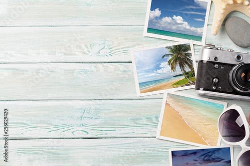 Fototapeta Travel vacation background concept obraz