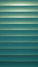 Green Venetian Blinds Background